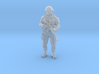 Modern Soldier Standing (1/48 Scale) 3d printed