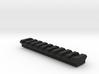 9 slot Keymod Picatinny rail 3d printed