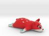 strawberry welsh corgi 3d printed