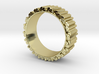 Crystal Ring - ring size ca 2 3d printed