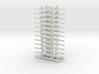 OO9 Underframe 4ft 6 wb x12 3d printed