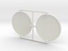 4X20 Scope Lens Pair 3d printed