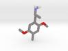 DOM (2,5-dimethoxy-4-methyl-amphetamine) 3d printed