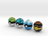 Pokeballs (Set 05) 3d printed