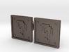 Question Block Cufflinks (8-Bit) 3d printed
