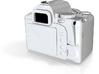 1/10 Scale SLR Camera 3d printed