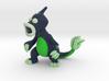 Pokefusion - Nuclear Weepinmeleon (Uranium) 3d printed