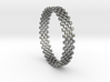 Continum Ring (Size-9) 3d printed Continum Ring (different materials have different prices)
