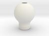 Upside Down Lamp 3d printed