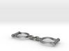 Ned Kelly Gang Outlaw Shackles Handcuffs (tiny) 3d printed