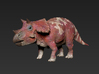 Triceratops Baby(Small/Medium-color size) 3d printed