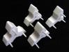Tetrahedral racks endcaps 3d printed
