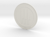 Italy 1923-1946 Roundel Coaster 3d printed