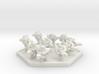 UWN Army Planetary Guard Squad (Hex) 3d printed