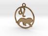 Leo Zodiac Pendant 3d printed
