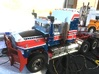 Mack-hood-Valueliner-twin-lamps-airintake 3d printed Allmost ready for display