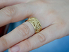 Ornament ring 2M (Rs 6.5) 3d printed Ornament ring 2 18k gold