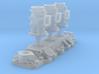 1/16 Flathead Triple Deuce Carb Kit 3d printed