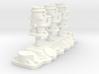 1/12 Flathead Triple Deuce Carb Kit 3d printed