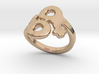 Saffo Ring 29 – Italian Size 29 3d printed