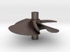 4 blade 5 inch left hand propeller  3d printed