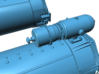 1/24 Torpedo Tubes (aft pair) for PT Boats 3d printed