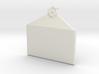 Customizable Envelope Pendant 3d printed