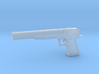 Desert Eagle Long Barrel 1/12 scale 3d printed