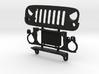 AJ30002 EVIL eye grill & mount 3d printed