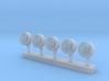 1:200 Scale OE-82 SATCOM Antennae (5x) 3d printed
