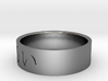 Ring Japanese character means Languid 3d printed