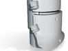 Ned Kelly Helmet Shot Glass Porcelain 3d printed