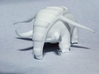 Donphan 3d printed Close up – White strong & Flexible