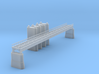 Railroad Bridge Z Scale 3d printed 165ft Railroad Bridge Z scale