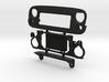 AJ30005 ANGRY Eye Var 2.0 Grill & Mount 3d printed