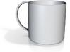 SimpleCup w/handle b. 13 3d printed