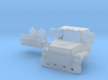 1/87 Ford L900 truck cab with interior  3d printed