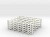 Rebar Grid 4 Feet x 4 Feet 1-87 HO Scale  3d printed