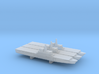 Osumi-class LST x 3, 1/6000 3d printed