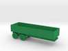 1/110 Scale M-35 Cargo Trailer 3d printed