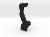 CJ10004 Snorkel solid Nylon - BLACK 3d printed
