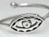 Evil Eye Ring by Bixie Studios 3d printed