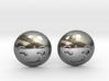 Smirk Face Emoji 3d printed