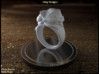 Cat Pet Ring - 18.89mm - US Size 9 3d printed