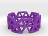 Triangle Jungle Ring 3d printed