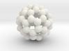 C60-buckminsterfullerene (small) 3d printed