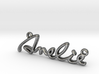 AMELIE Script First Name Pendant 3d printed