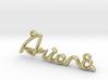 ARIANA Script First Name Pendant 3d printed