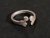 Ring bone 3d printed Stainless Steel
