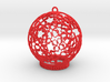 Roses & Roses Ornament 3d printed Roses are red.